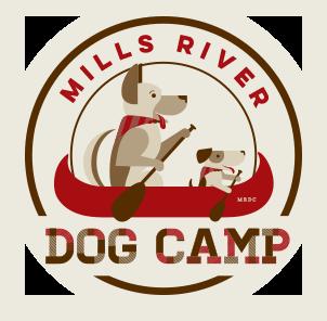 Mills River Dog Camp Logo